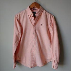 Ralph Lauren Peach Button Shirt